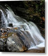 Laurel Falls Great Smoky Mountains Metal Print