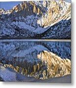 Laurel Mt And Convict Lake Sierra Metal Print