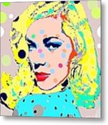 Lauren Bacall Metal Print by Ricky Sencion