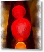Lava Lamp Photo Art 04 Metal Print