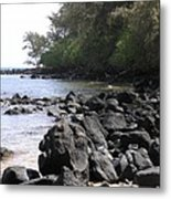 Lava Rocks Metal Print