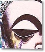 Lavender Buddha Part One Metal Print
