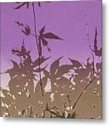 Purple Haiku Metal Print