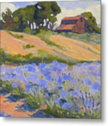Lavender Hollow Farm Metal Print
