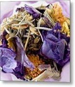 Lavender Potpourri Metal Print