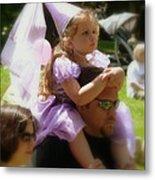 Lavender Princess Metal Print