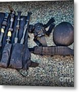 Law Enforcement -swat Gear - Entry Tools Metal Print by Paul Ward