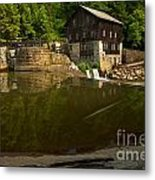 Lawrence County Grist Mill Metal Print