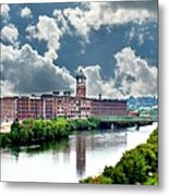 Lawrence Ma Historic Clock Tower Metal Print