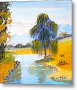 Lawson River Metal Print
