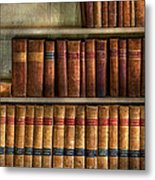 Lawyer - Books - Law Books  Metal Print