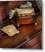Lawyer - Important Documents  Metal Print by Mike Savad