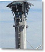 Lax Control Tower Metal Print