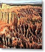 Layered Hoodoos At Bryce Canyon National Park Metal Print