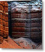 Layers Of Time Metal Print
