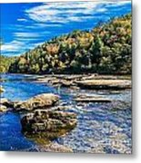 Lazy River Afternoon Metal Print