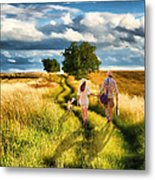 Lazy Summer Afternoon Metal Print