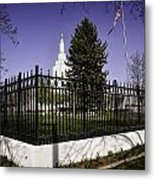 Lds Idaho Falls Temple Metal Print