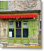Le Cafe Bar Metal Print