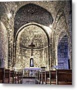 Le Castellet Medieval Church Metal Print