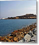 Le Fort Carre - Antibes - France Metal Print