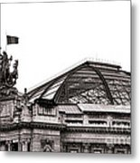 Le Grand Palais Metal Print