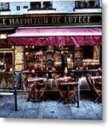 Le Marmiton De Lutece Paris France Metal Print