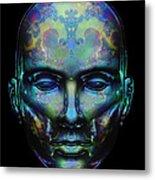 Le Masque De Minuit Metal Print