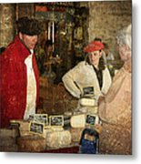 Le Mercant De Fromage Revel France Img7482 Metal Print