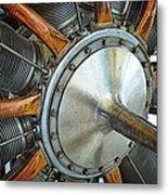 Le Rhone C-9j Engine Metal Print