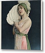 Le Theatre 1912 1910s France Mlle Metal Print by The Advertising Archives