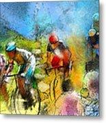 Le Tour De France 01 Metal Print