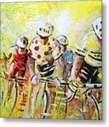 Le Tour De France 07 Acrylics Metal Print