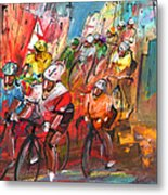Le Tour De France Madness 04 Metal Print