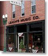 Leach's Music Metal Print
