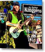 Lead Guitarist Jimmy Dence - The Fabulous Kingpins Metal Print
