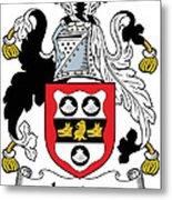 Leader Coat Of Arms Irish Metal Print
