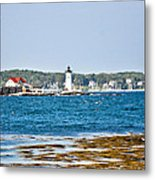 Leading The Way To New Castle Metal Print