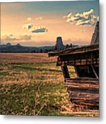 Leaning In To Devil's Tower Metal Print