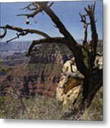 Leaning On The Everlasting Arms Metal Print