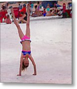 Leaping For Joy Metal Print