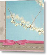Learn Live And Hope Metal Print by Lisa Knechtel