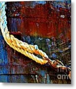 Learning The Ropes Metal Print