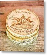 Leather Saddle Soap Metal Print