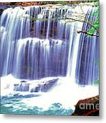 Leatherwood Falls Metal Print