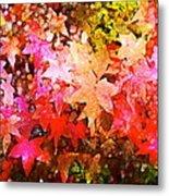 Leaves 11 Metal Print