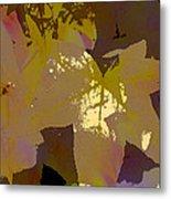 Leaves 9 Metal Print