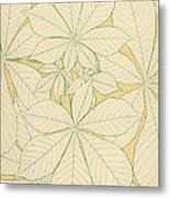 Leaves From Nature Metal Print