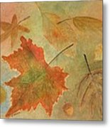 Leaves Vll Metal Print