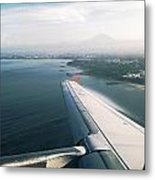 Leaving Bali Metal Print